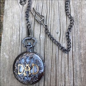 Other - 🌟Father's Day! 🌟 Antique style Dad pocket watch